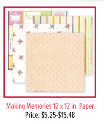 Making Memories 12 x 12 in. Paper