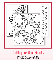 Quilting Creations Stencils