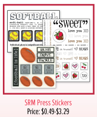 SRM Press Stickers