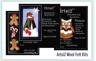 Artsi2 Wool Felt Kits