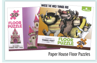 Paper House Floor Puzzle