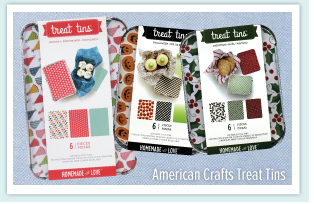 American Crafts Treat Tins