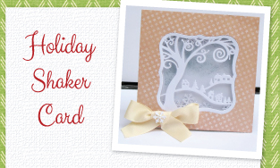 Holiday Shaker Cards