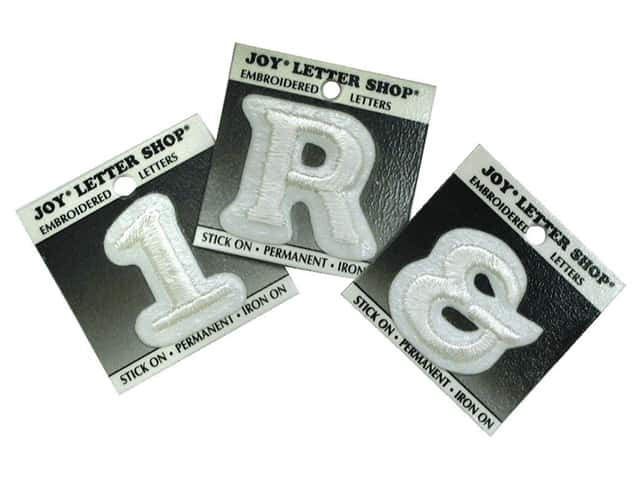 how to make iron on letters letter shop iron on white createforless 22332 | 30290 3 1