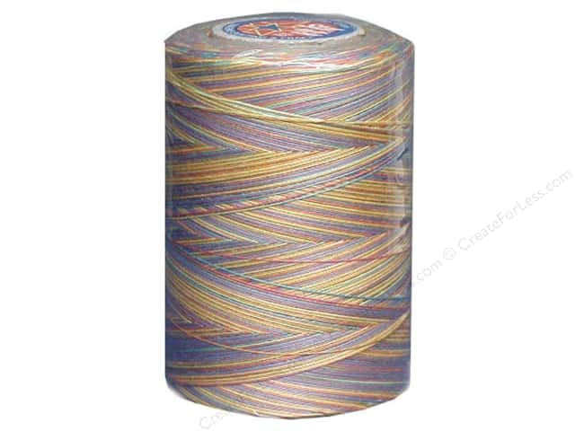 Coats Clark Star Variegated Mercerized Cotton Quilting Thread 1200