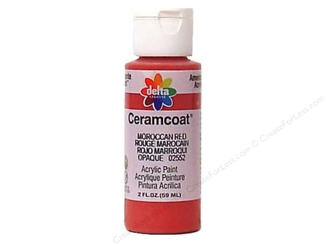 ceramcoat acrylic paint by delta 2 oz 2552 moroccan red - Moroccan Red Paint