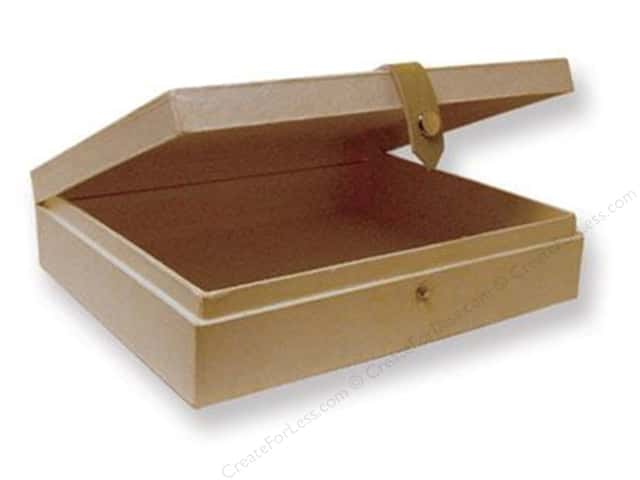 Paper mache cigar box 10 in createforless for Cigar boxes for crafts