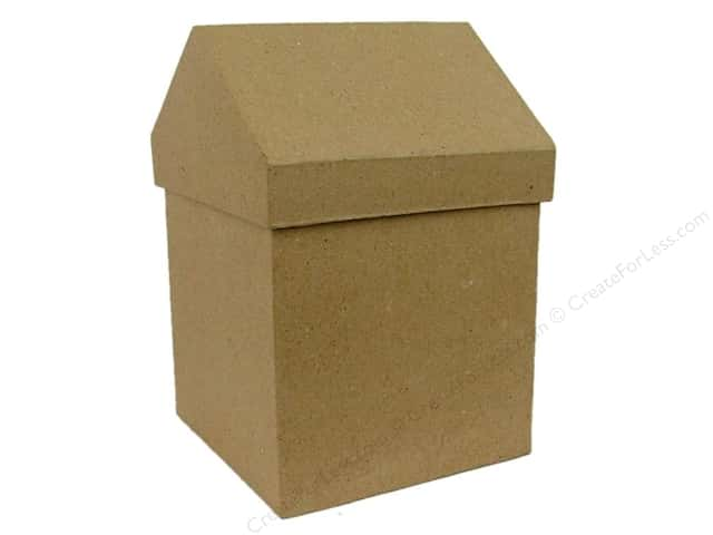 Paper mache small box by craft pedlars 12 pieces for Craft paper mache boxes