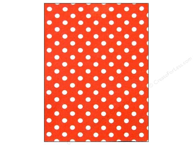 polka dot red 12 sheets