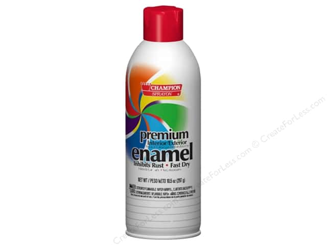 champion enamel spray paint 10 5 oz candy apple red createforless. Black Bedroom Furniture Sets. Home Design Ideas