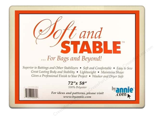 By Annie Soft And Stable Stabilizer 72 X 58 In White Createforless