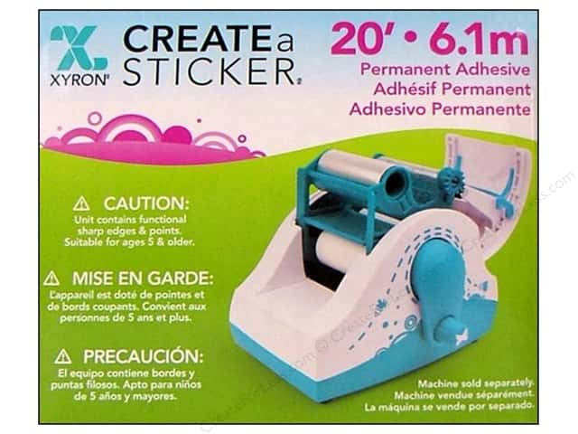 Create a sticker permanent refill 20 ft