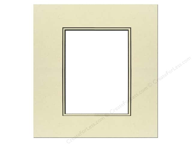 PA Framing Pre-cut Double Photo Mat Board Black Core 16 x 20 in. for 11 x  14 in. Photo Spice/Spice 1