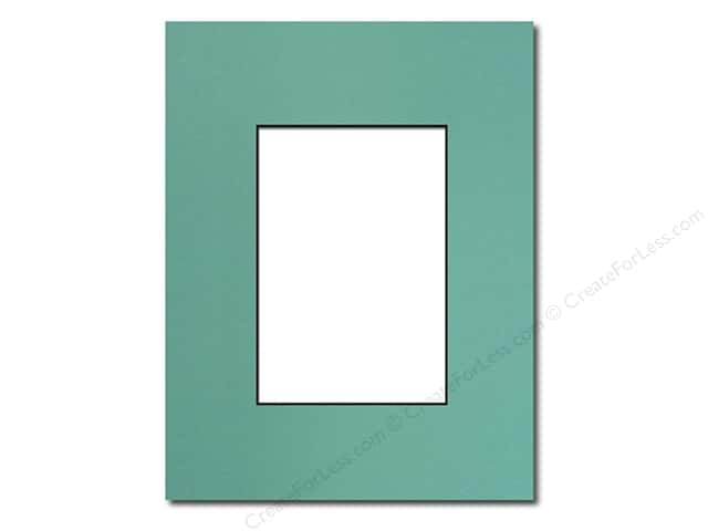 Pre-cut Photo Mat Board Black Core 16 x 20 in. Aquamarine ...
