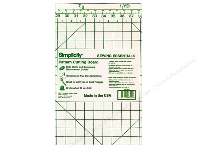 Simplicity Pattern Cutting Board 36 X 60 In Createforless