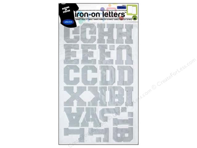 how to make iron on letters reflective iron on letters by dritz silver createforless 22332 | 225181 3 2