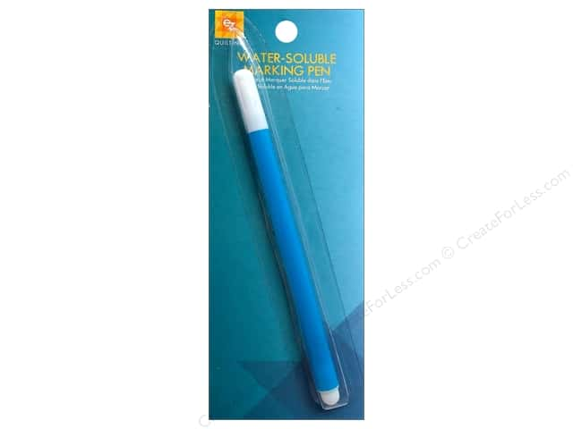 EZ Quilting Water Soluble Marking Pen 1 pc. Blue -- CreateForLess : marking pens for quilting - Adamdwight.com
