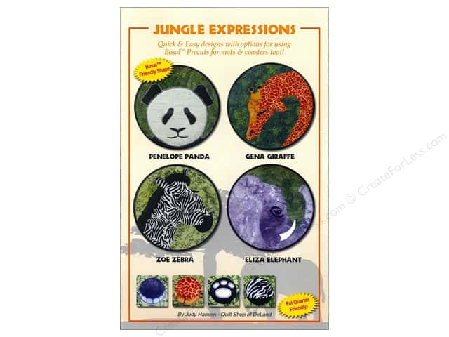 Jungle Expressions Pattern -- CreateForLess : deland quilt shop - Adamdwight.com