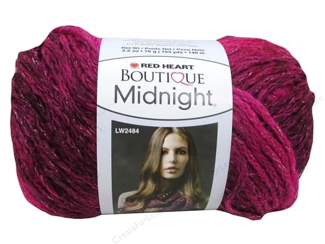 Knitting Patterns For Red Heart Boutique Midnight : Red Heart Boutique Midnight Yarn #1938 Radiant 153 yd ...