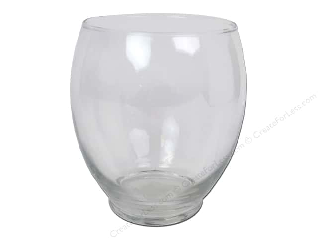 Crisa Glass Hailey Vase 5 34 In 4 Pieces Createforless