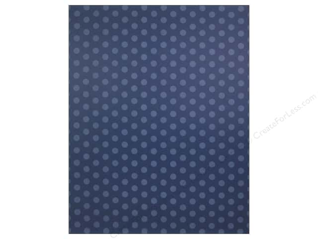 We R Memory Keepers Poster Board 22 X 28 In Dots Navy