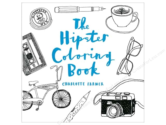 sterling the hipster coloring book - Hipster Coloring Book