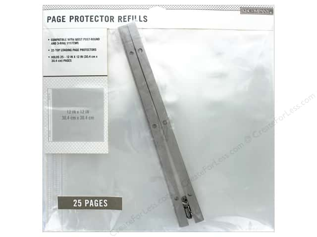 K Company 12 X 12 In Page Protector Refills 25 Pc Createforless