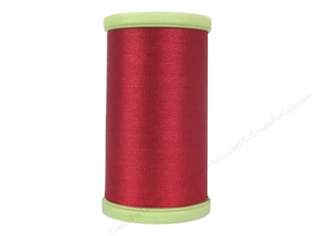 Coats Trilobal Polyester Embroidery Thread 600 Yd Red Createforless