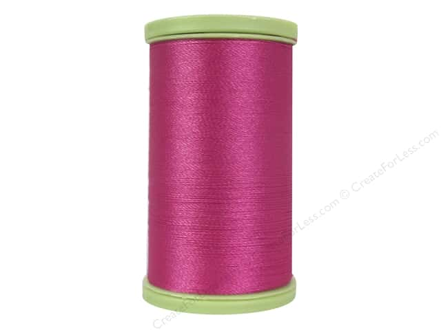 Coats Trilobal Polyester Embroidery Thread 600 Yd Red Rose