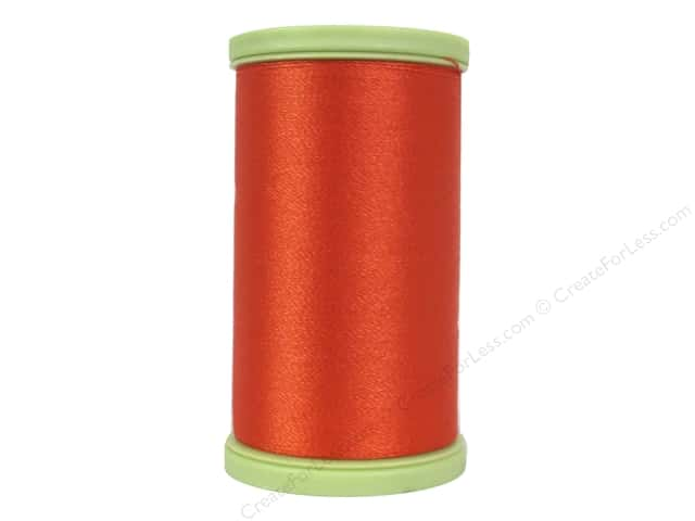 Coats Trilobal Polyester Embroidery Thread 600 Yd Tango