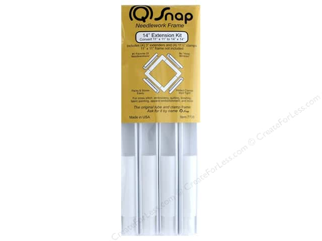 Q Snap Needlework Frame Extension Kit 14\