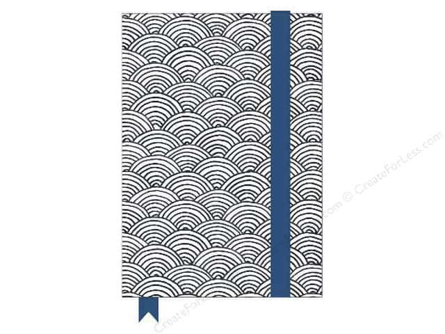 American Crafts Adult Coloring Notebook Hall Pass Scallop ...
