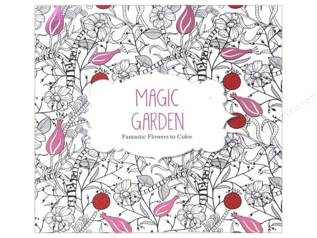 Magic Garden Coloring Book -- CreateForLess