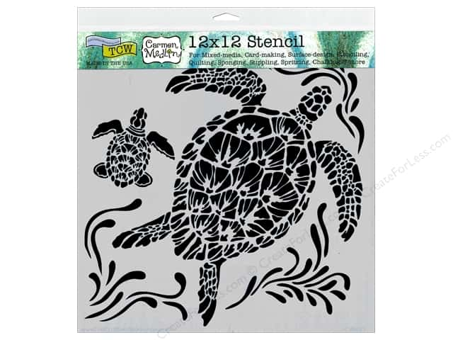 The Crafters Workshop Template 12 X In Sea Turtles