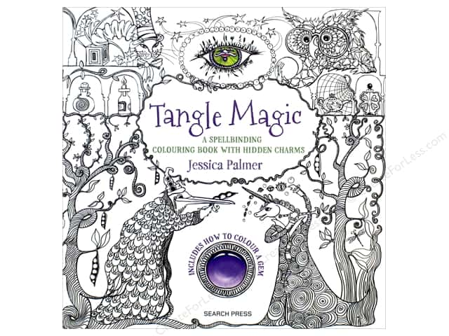 tangle magic coloring book by jessica palmer - Magic Coloring Book