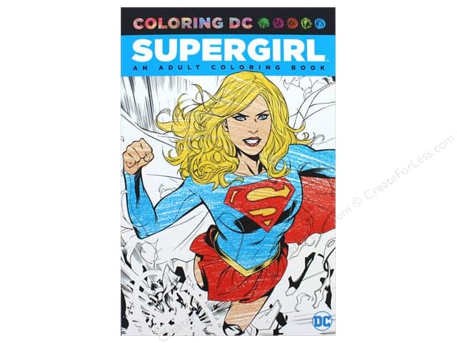 DC Comic Supergirl Coloring Book