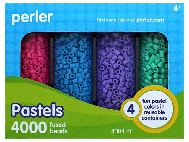 Perler Pastel Bead Storage Container Set 4004 pcs