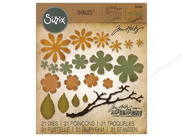 Image result for sizzix small tattered florals