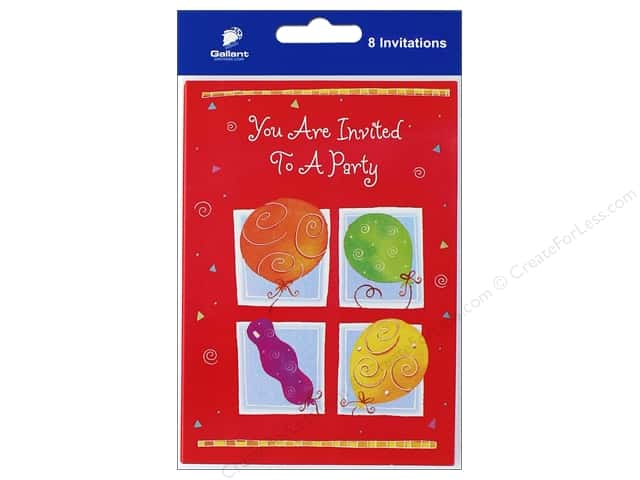 Gallant Greeting General Party Invitation 8ct 2 CreateForLess – General Party Invitations