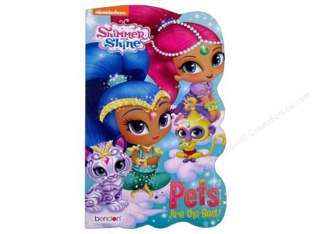 Shimmer shine board book createforless for Shimmer and shine craft ideas
