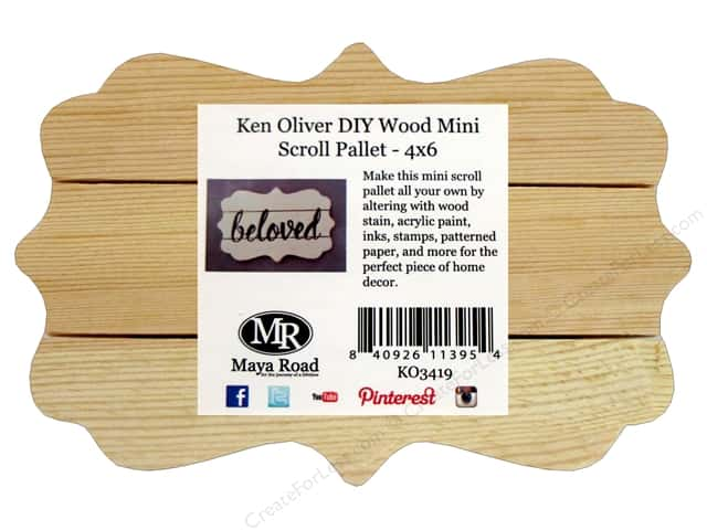 maya road ken oliver wood diy pallet scroll 4x6 createforless
