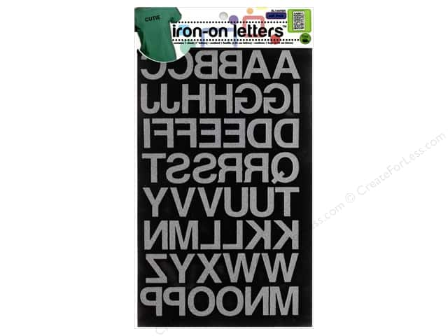 Dritz iron on block letters 1 in black createforless dritz iron on block letters 1 in black thecheapjerseys Choice Image
