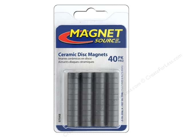 the magnet source ceramic disc magnets 1 2 in 40 pc createforless