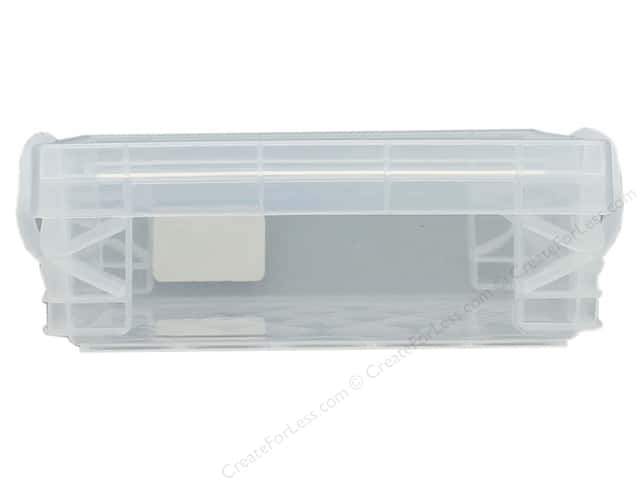 Storage Studios Super Stacker Crayon Box Clear