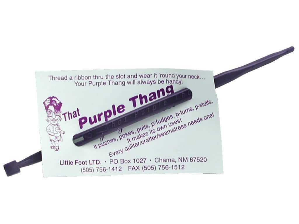 1 Pack Little Foot TPT That Purple Thang-