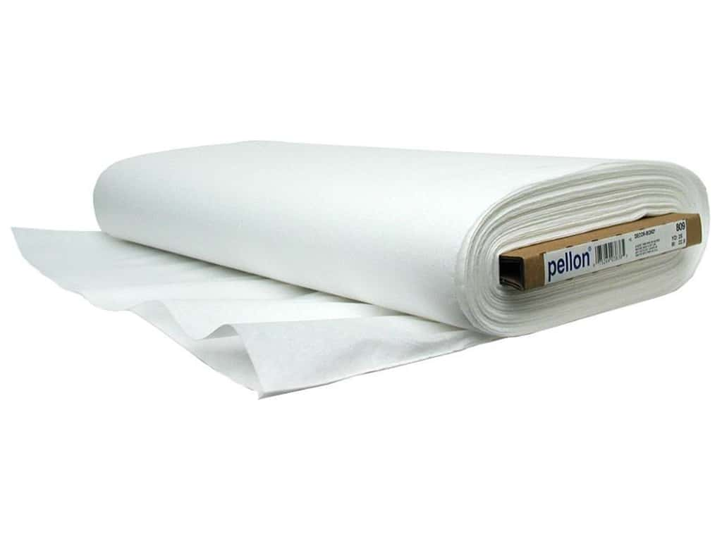Pellon Decor Bond Fusible Ilizer 44 In X 25 Yd White Yards