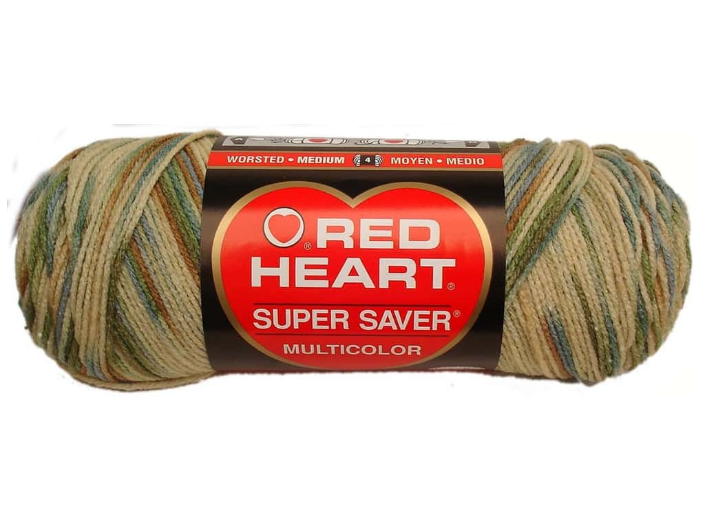 Red Heart/ Super Saver Yarn Aspen