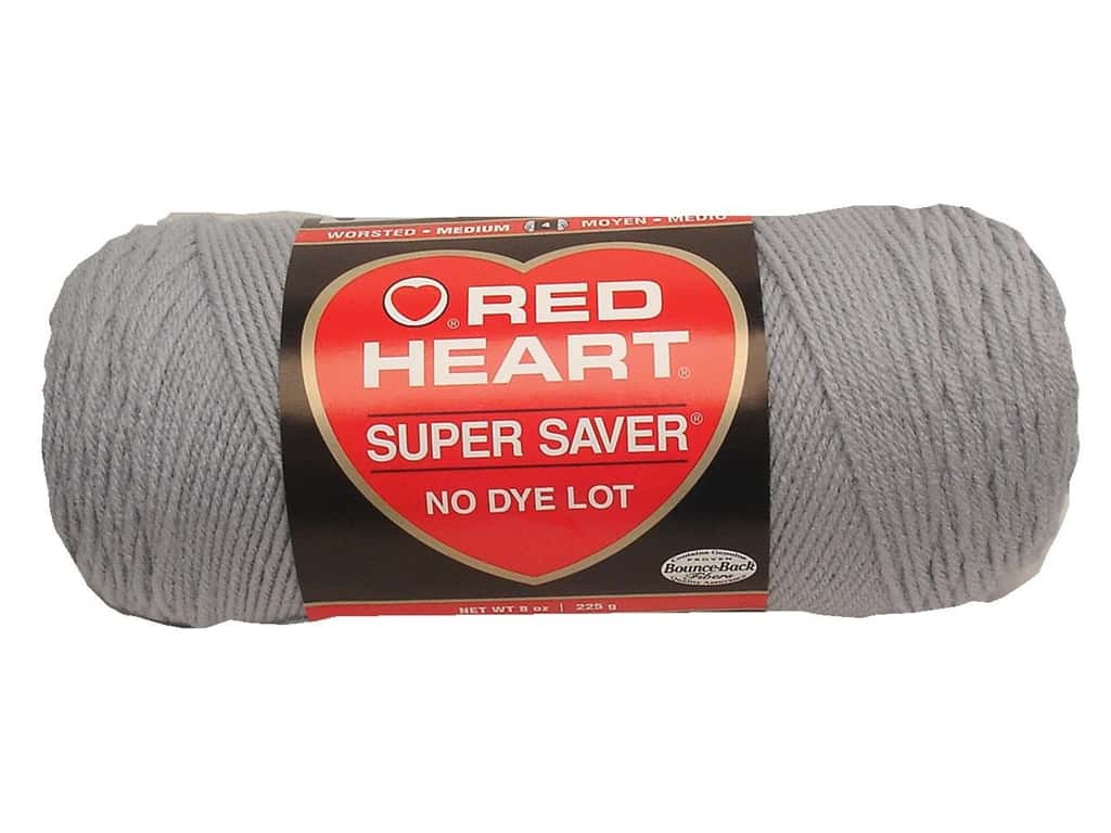 - 364 yds. Red Heart Super Saver yarn- various colors worsted weight 7 oz