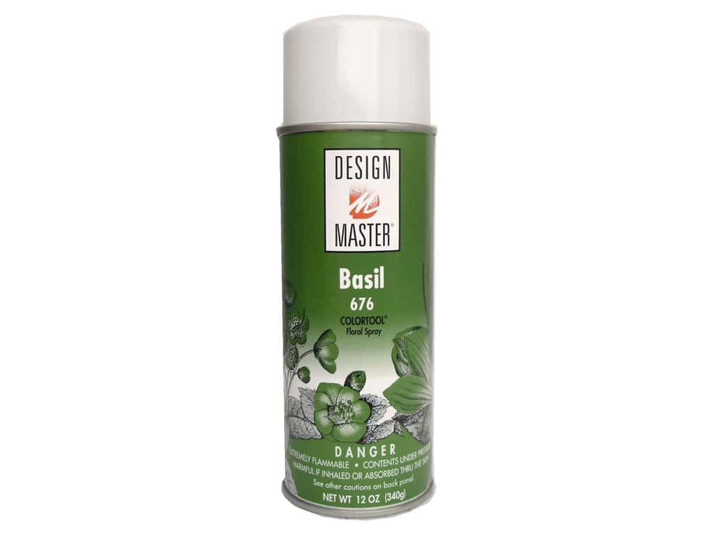 Design Master Colortool Spray Paint Basil 12 Oz Createforless