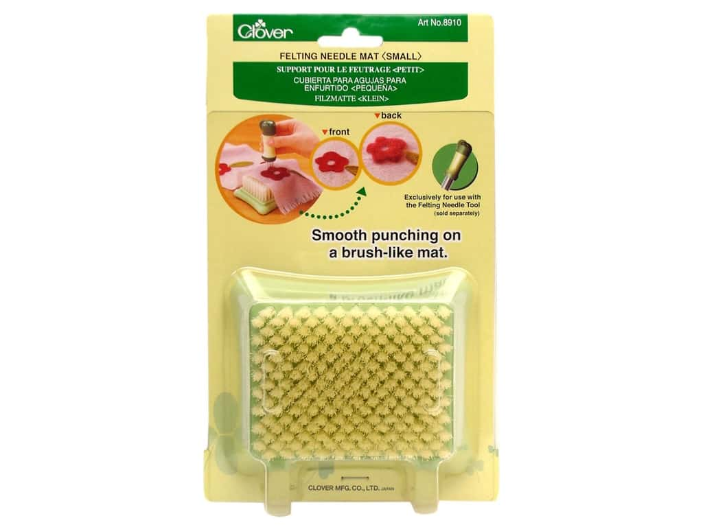 Clover Felting Needle Mat Large Small Punching Applique